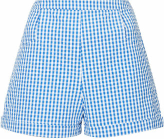 Topshop Gingham pocket shorts