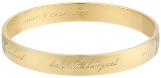 Kate Spade Bride Idiom Bangle Bracelet