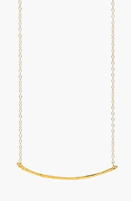 Women's Gorjana 'Taner' Small Bar Pendant Necklace $60 thestylecure.com