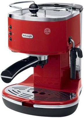 De'Longhi DeLonghi Icona 15-Bar Pump Driven Espresso/Cappuccino Maker in Red