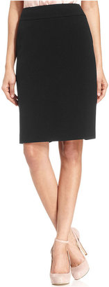 Nine West Skirt, Ruched Pencil