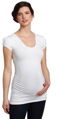 Ripe Maternity Women's Puff Sleeve Tube Tee