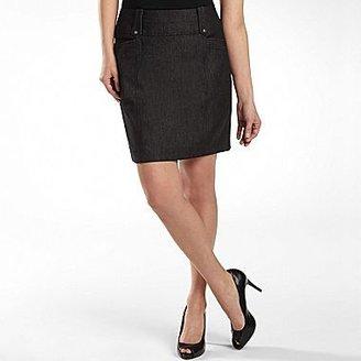 JCPenney Worthington® Womens Denim Skirt, Petite