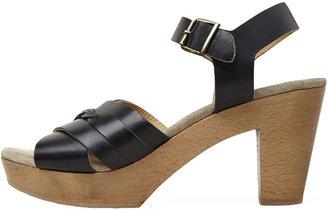 A.P.C. braided clog sandal