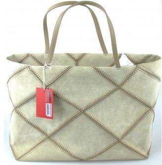 Roger Vivier pristine (PR Prismick Couture Suede Large Tote - Limited Production