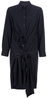 Jean Paul Gaultier Vintage ruched shirt dress