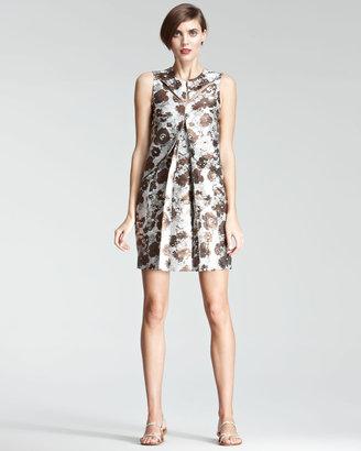 Christopher Kane Floral Shift Dress