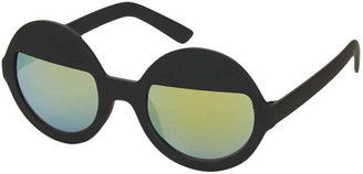 Topshop Lolly Rubber Eyelid Sunglasses