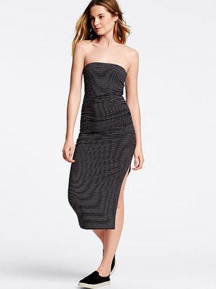 Victoria's Secret Essential Tees Strapless Midi Dress