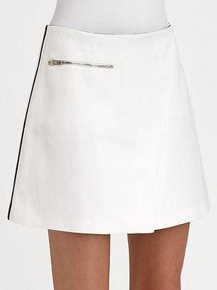 Joseph Janet Stripe-Detail Wrap Skirt