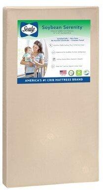 Sealy 2-Stage Waterproof Standard Crib Mattress