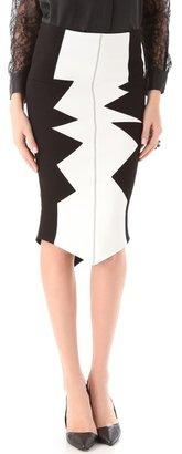 Kelly Wearstler Shark's Tooth Organto Skirt