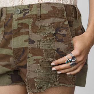 Denim & Supply Ralph Lauren Distressed Camo Short