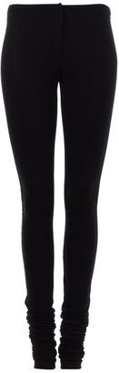 Givenchy Ruched leg skinny jersey trousers