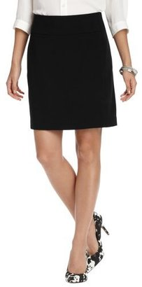 LOFT Petite Besom Pocket Shift Skirt