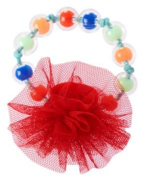 Crazy 8 Corsage Beaded Bracelet