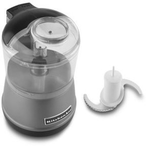 KitchenAid 3.5-c. Mini Food Processor, Contour Silver