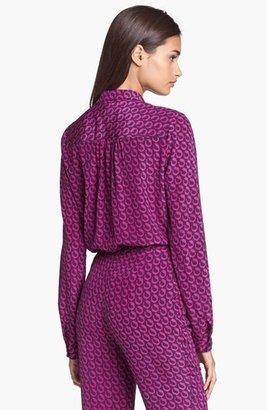 Diane von Furstenberg 'Lorelei' Print Silk Shirt