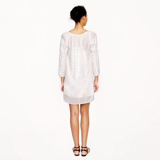J.Crew Collection embroidered voile dress