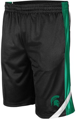 Colosseum michigan state spartans basketball shorts - men