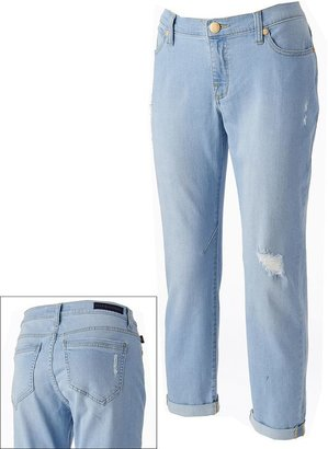 Rock & Republic emo distressed boyfriend jeans - women's