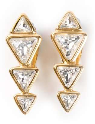 Yves Saint Laurent Vintage star earrings