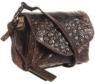 Frye Brooke Mini (Chocolate Vintage Leather) - Bags and Luggage