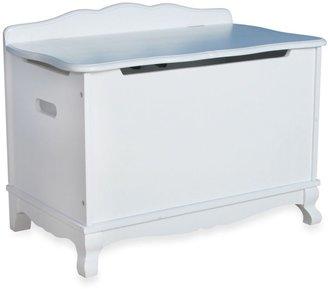 Guidecraft Classic White Toy Box