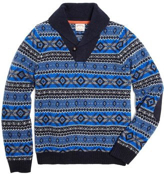 Brooks Brothers Wool Fair Isle Sweater