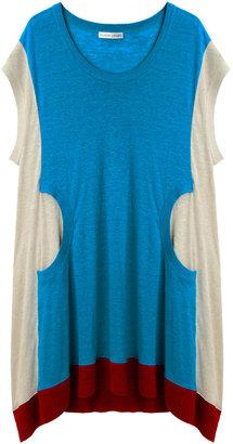 Tsumori Chisato Colorblocked Linen Dress