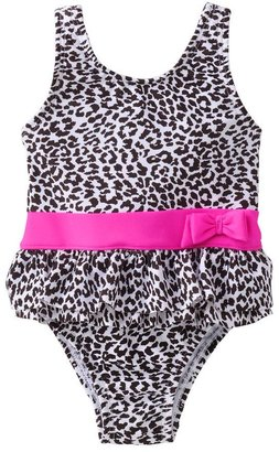 Carter's cheetah one-piece swimsuit - baby