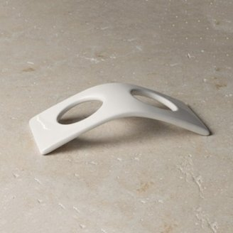 The White Company Newcombe Ceramic Bottle Arch, White, One Size