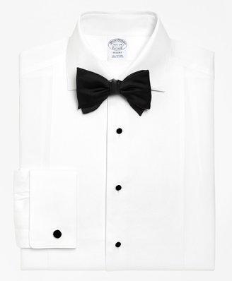 Brooks Brothers Regent Fit Bib-Front Spread Collar Tuxedo Shirt