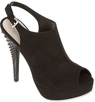 JCPenney Nine & Co.® Dreese Suede Slingback Pumps