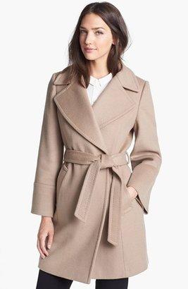 Elie Tahari 'Chelsea' Wool Blend Wrap Coat