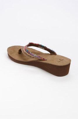 Sanuk 'Fraid' Wedge Flip Flop (Women)