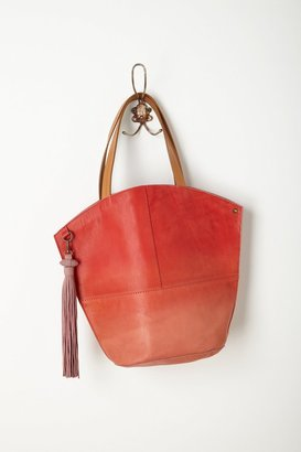 Anthropologie Ombre Dip-Dye Tote