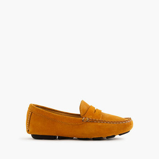 J.Crew Kids' suede penny loafers