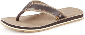 Penguin Dune Thong Sandal, Brown
