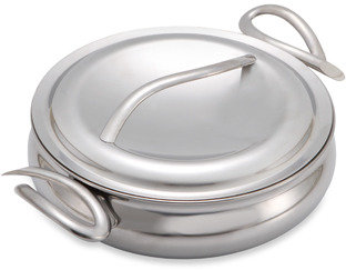 Nambe Gourmet 10-Inch Saute Pan with Lid
