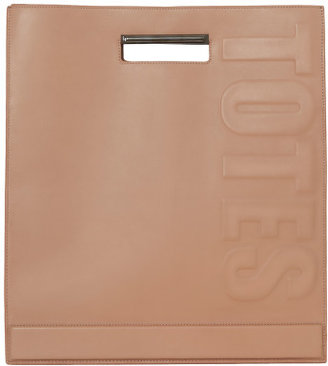 3.1 Phillip Lim Totes Amaze Cut Out Handle Tote In Nude