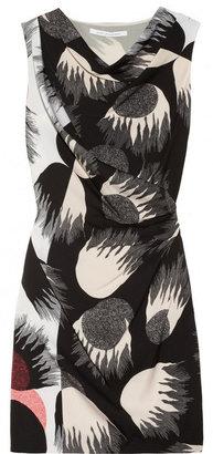 Diane von Furstenberg Julissa printed stretch-silk georgette dress