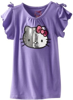 Hello Kitty Girl's Sequin Tee