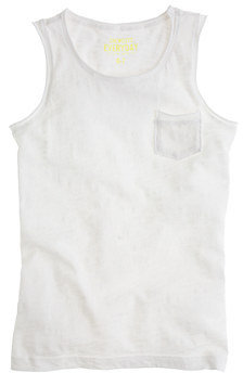 J.Crew Girls' cotton Gracen tank