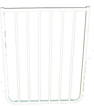 Cardinal Gates 21.75 inch Width Extension Model BX2W for Stairway Special SS-30 and Auto-lock Safety Gate MG-15 White