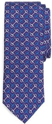 Brooks Brothers Horsebit Link Print Tie