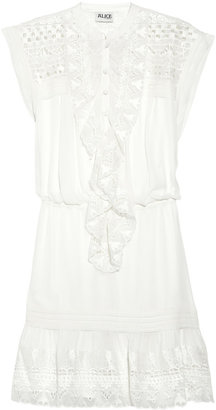 ALICE by Temperley Mini Giselle chiffon dress