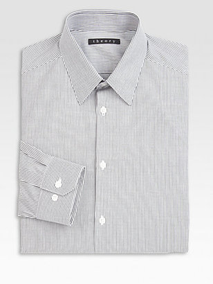 Theory Dover Point West Lock Dress Shirt