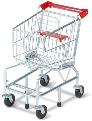 Toddler Melissa & Doug Grocery Shopping Cart $69.99 thestylecure.com