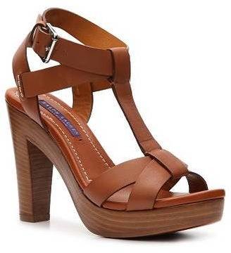 Ralph Lauren Adalira Leather Platform Sandal